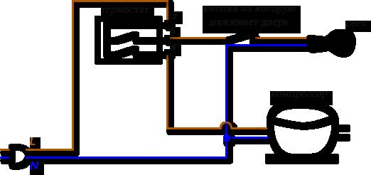 Термостат к54 схема подключения